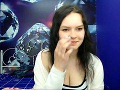 babe mariasantosx fingering herself on live webcam