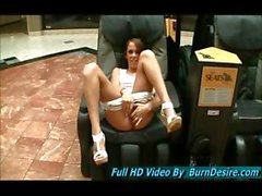 Haley teen girl first adult shoot in over a year she is cuter than ever and wow she does love the public nudity