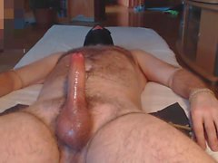 Me tease milk hung hairy alpha bull