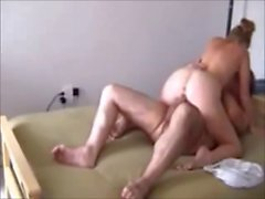 redhead cheating wife on real hidden cam