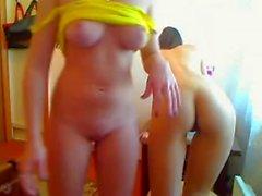 amigas na Web Kamera GD Pegando