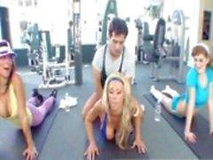 HOT Tanya James Fucks Her Trainer