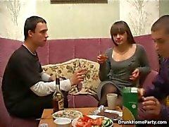 DHP - Sarhoş kız uzun bütün gece fuck hazır