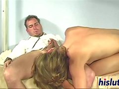 Cute Brianna bangs her hung doctor