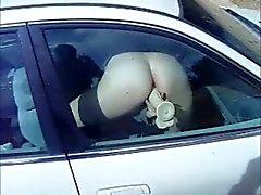 Фаллоимитатора окно автомобиль