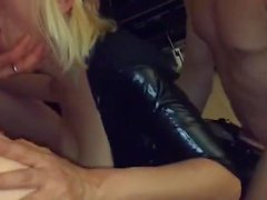 Swinger Wife First Gangbang