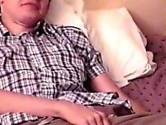 La réalité solitaire twinks fait maison saccades de vidéo