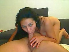 Sexy arab sucks cock and gets fucked
