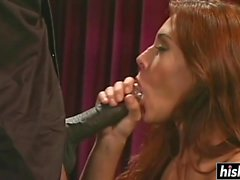 Raylene enjoys his big black pecker
