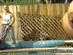 Грудастая Бразилии ебля Классика