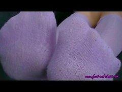 Anna's Purple Socks