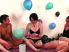 Baci Lesbiche nuda dilettanti party game