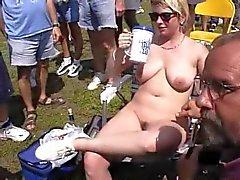 Fun at a Nudist rally 6