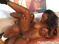 Naomi Banxxx - Big black rod in Hot Ebony