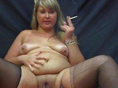 beautiful plump smokes showing its belly