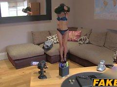 Amazing anal acrobatics from hot Italian babe Valentina