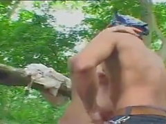 Thai Vintage Porn Movie Outdoor sex 3