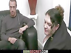 Vaimo löytää BBW hänen ukko
