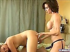 Allie Haze And Veronica Avluv Wazoo Drill With Belt On