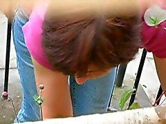 neighbor shaking her ass