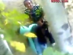 Arabic Girl Fucked in the Woods
