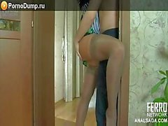 russian anal blonde -