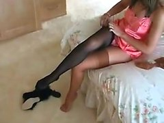 Sexy Solo in Stockings Maxine X Productions