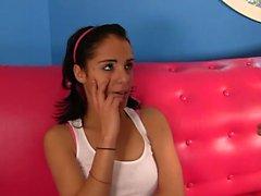 Amazing brunette likes a good pounding