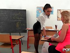 Fist fucked teacher