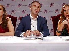 Nikki Benz & Tori Black judging blowjob skills in DPStar 3 Audition Ep 2