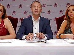 Nikki Benz & Tori Black urteilen Blowjob Fähigkeiten in DPStar 3 Vorsprechen Ep 2