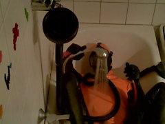 oranssi kylpyamme