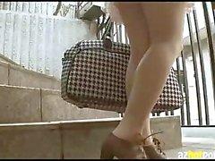 Teens Great Splash Naked Housekeeper