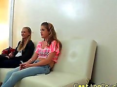 Realsex amateurs ffm at casting couch x
