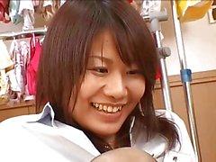 footjob groupes japonaise et collant pour