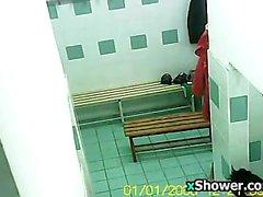 Hidden Camera In The Gym Locker Room