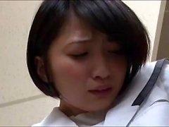 Riku Minato sexy étudiant asiatique en uniforme scolaire ne POV