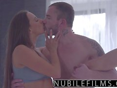 NubileFilms Hardcore creampie for young babe