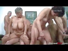 German Mature Swingers Party