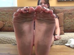 Stinky and Dirty Sock Feet!