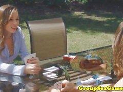 Capri Anderson spielen doggystyle Spiel