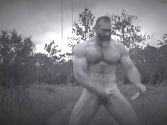 Muscle Daddy Goes To Kiimainen Forest
