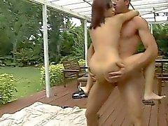 Pleasuring interracial sex
