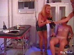 Perverted milfs have lesbian bondage fun