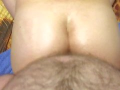 oil pussy creampie