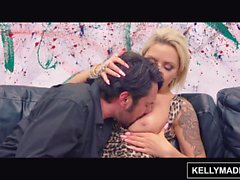 KELLY MADISON Bimbo MILF Nina Elle Seduces the Artist