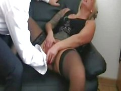 Fisting german female bitch till she squirt