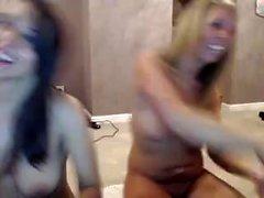 Dani Daniels och blond lesbisk lick rumphål
