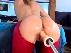 Round and Big Ass Booty MILF Mamas Masturbate Solo