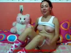 sexy columbian masterbating and fucking with dildo - livewildsexcams